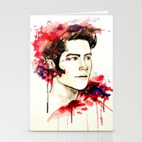 stiles stilinski Stationery Cards featuring Stiles Stilinski  by Sterekism
