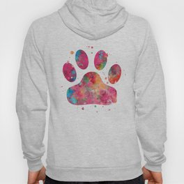 Colorful Paw Hoody