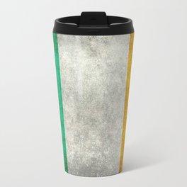 Flag of the Republic of Ireland, Vintage style Travel Mug