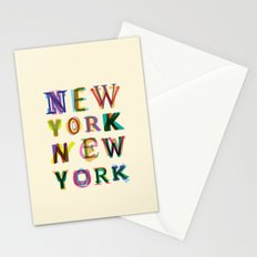 New York New York Stationery Cards