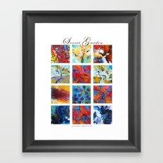 Secret garden composition Framed Art Print