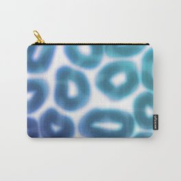Blue Jelly Donuts Carry-All Pouch