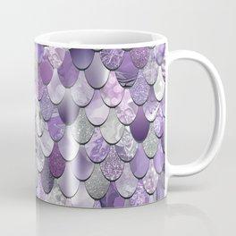 Mermaid Purple and Silver Coffee Mug