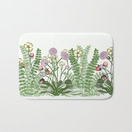 Medley of garden flowers part ii Bath Mat