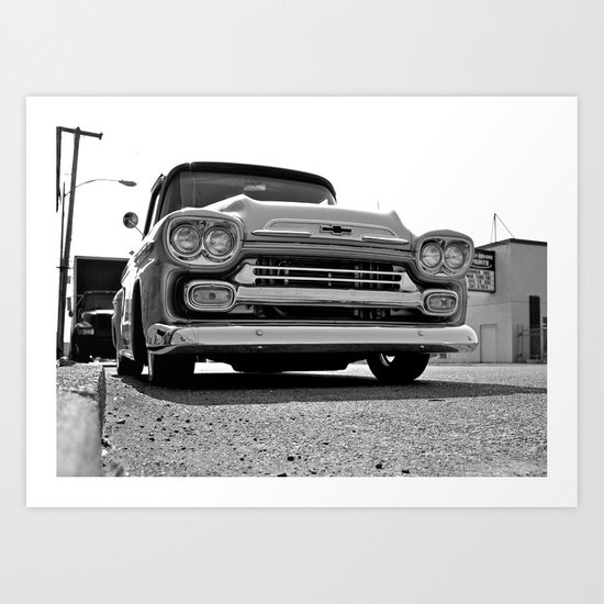 South Tacoma Chevy Art Print