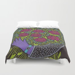 I Picked You These Flowers Duvet Cover