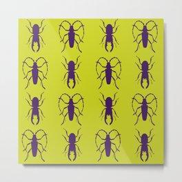 Beetle Grid V5 Metal Print