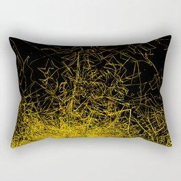 Forgotten Gardens #28 Rectangular Pillow