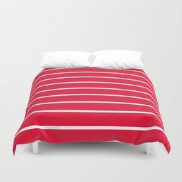 strawberry stripes Duvet Cover