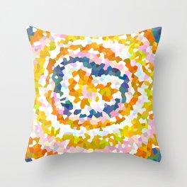 Sun Beam Geometric Throw Pillow