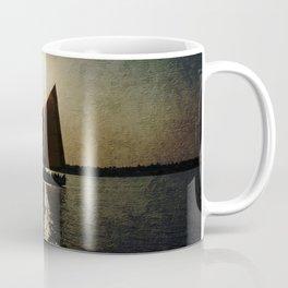 Sailing at twilight Coffee Mug