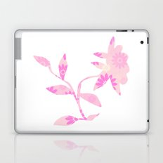 Pinky flower Laptop & iPad Skin