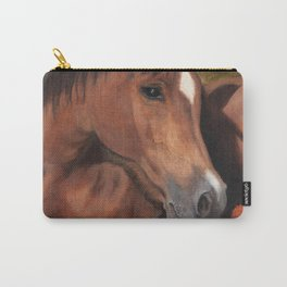 Little Brown Filly Carry-All Pouch