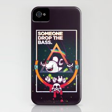 SOMEONE DROP THE BASS. (Dubstep Club) Slim Case iPhone (4, 4s)