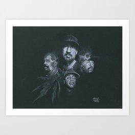 Stoned Raiders Art Print