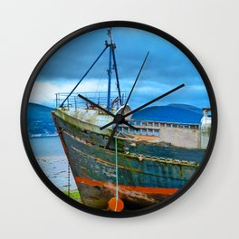 Highland Shipwreck Wall Clock