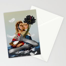 Can't be always like a saint, I have feelings... Stationery Cards