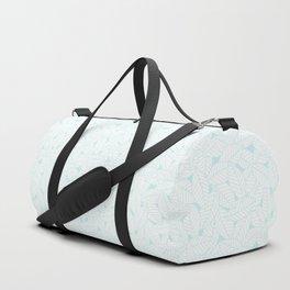 Leaves in Ice Duffle Bag