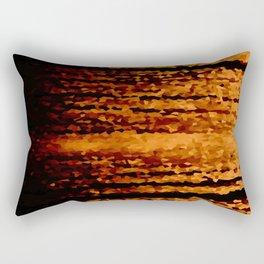 Warm Brown Rectangular Pillow
