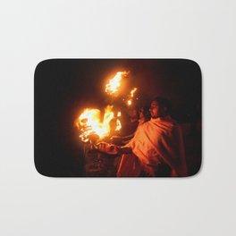 Holly Fire Bath Mat