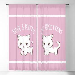 Cutie Kitty Blackout Curtain