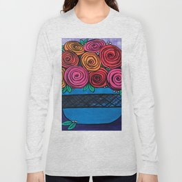Bowl of Roses Long Sleeve T-shirt