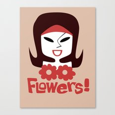 Flowers! Canvas Print
