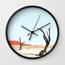 Deadvlei III Wall Clock