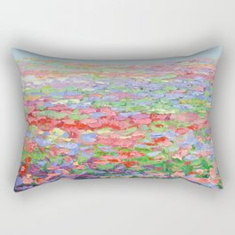 Carillon Blooms Rectangular Pillow