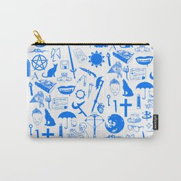 Buffy Symbology, Blue Carry-All Pouch