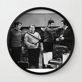 John Belushi Captain Kirk Wall Clock