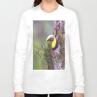 toucan Long Sleeve T-shirts featuring Toucan by WorldPear