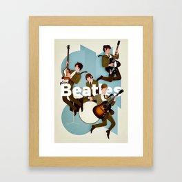 The Fab Four Framed Art Print
