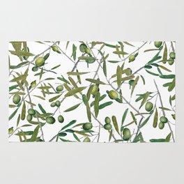 olive pattern Rug