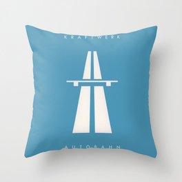 Kraftwerk Autobahn Throw Pillow