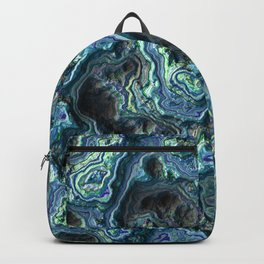 Green Relief Backpack