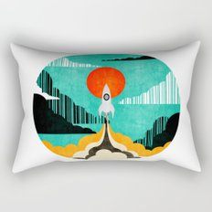 Spaceship C Rectangular Pillow