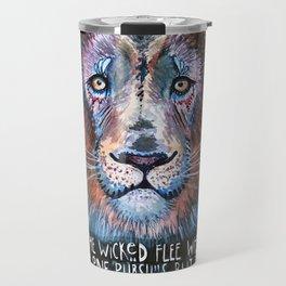 Bold as a Lion Travel Mug