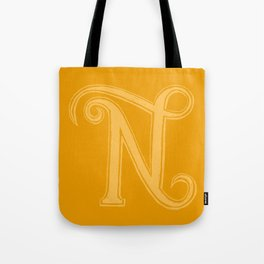 The Letter N Tote Bag