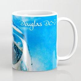 Douglas DC-3 Aircraft Coffee Mug