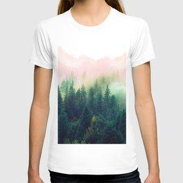 Watercolor mountain landscape T-shirt
