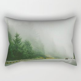 Rainy Portland Rectangular Pillow
