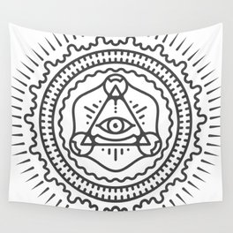 We are watching you Wall Tapestry