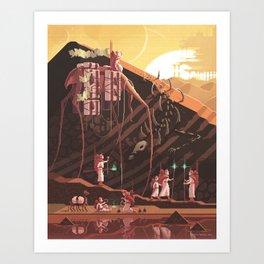 Scene #19: 'Nomads' Art Print