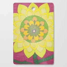 Flower of My Sun Cutting Board