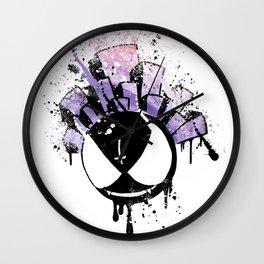 Gastly (dark twist) Wall Clock