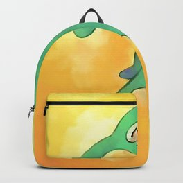 High Res Bold and Brash Repaint painting Backpack