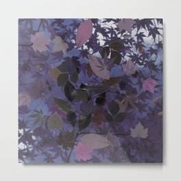Camo 101 Purple Metal Print