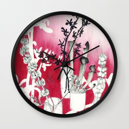 Simply Red Wall Clock