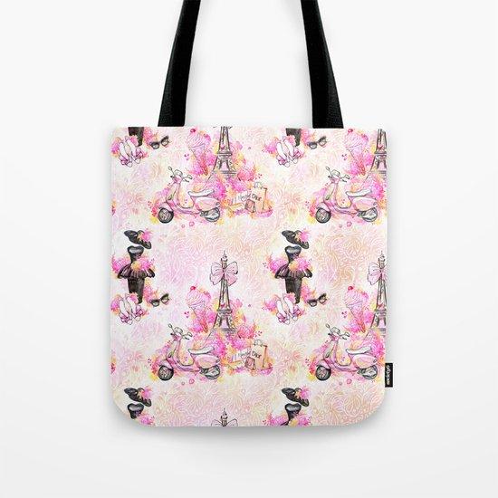 Fashion and Paris #1 Tote Bag